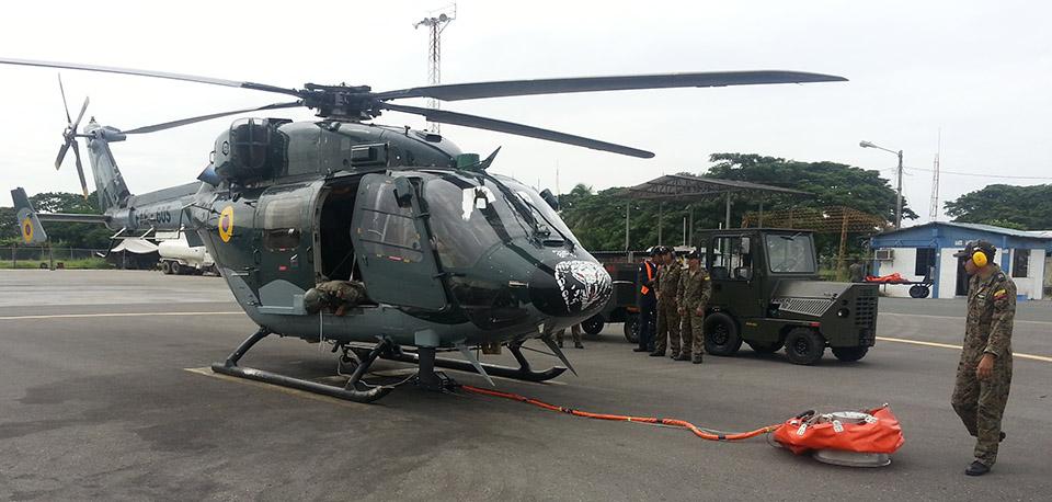 IMS Deploys Cloudburst Fire Buckets into Ecuador
