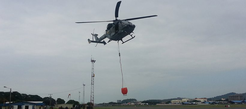 IMS Deploys Cloudburst Fire Buckets into Ecuador