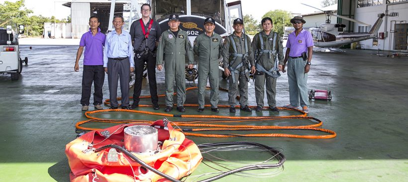 Royal Thai Police Take Delivery of Cloudburst Consignment