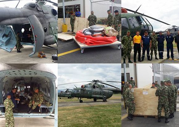 Colombia Armed Forces Chooses Cloudburst Fire Buckets