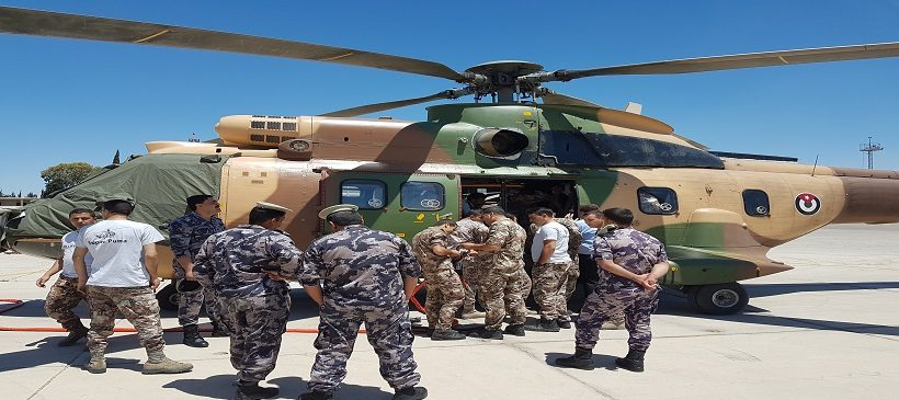 Cloudburst Fire Buckets – Jordanian Civil Defense Project – June 2017