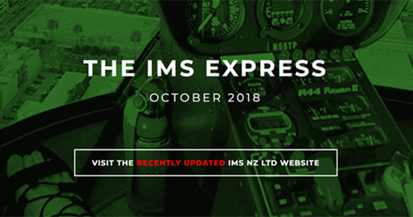 The IMS Express E-Newsletter Oct '18