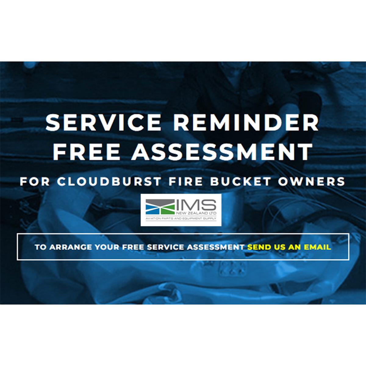 Cloudburst Service Reminder Free Assessment